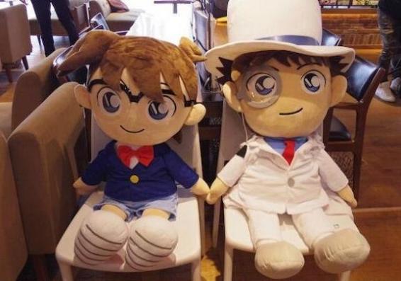 """死神小學生要來了 日本涉谷店開""""柯南咖啡廳"""""""