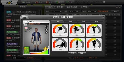 模拟经营类网页游戏:足球经理