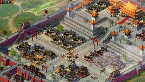 热血三国3城池建筑——寺庙