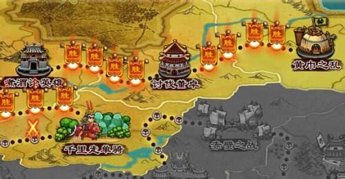 最火的三国类网页游戏第三名:乱点三国