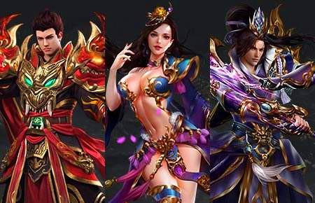 最新的网页游戏排行榜:梁山传奇