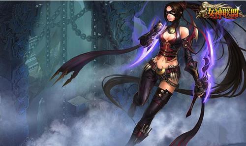 网页游戏:女神联盟