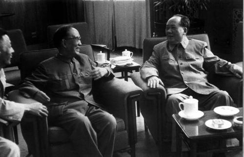 毛主席与郭沫若