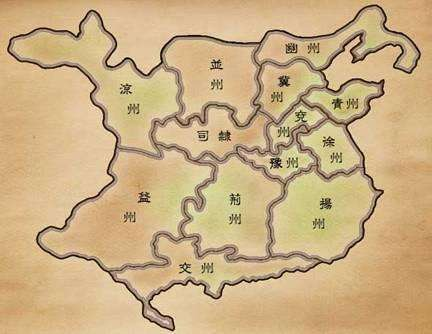 三国时期地图