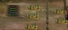 热血三国2城墙内的城防设施